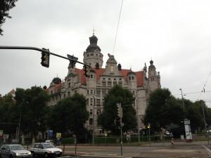 Ort der Fachtagung lebendige Stadt in Leipzig, das Leipziger Rathaus